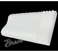 Ортопедическая подушка повышенного комфорта с охлаждающим эффектом (форма волны) Bravo 590 x 364 x 110 мм P107-AIR