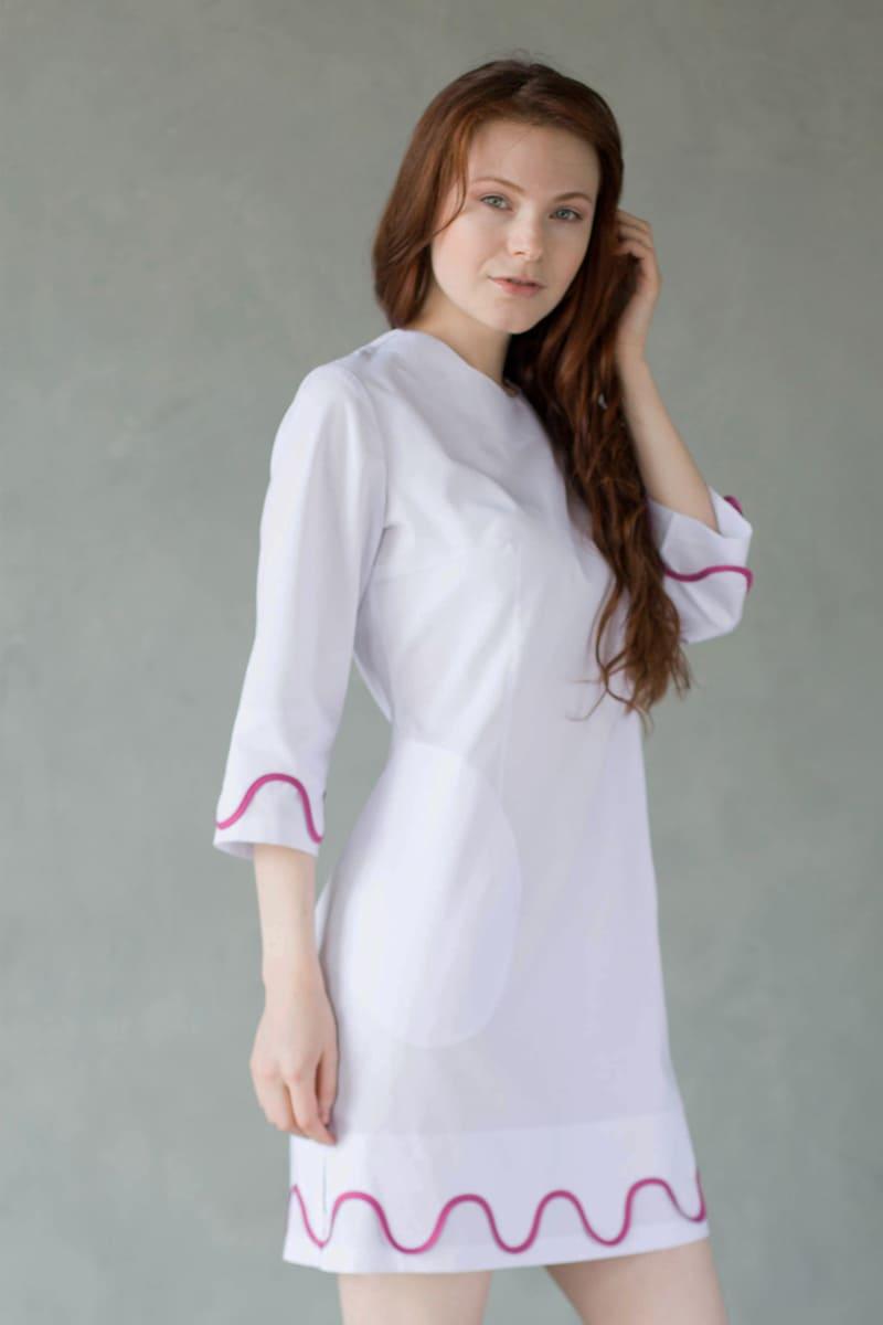 Женское медицинское платье Ассоль